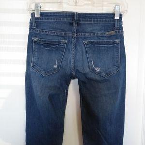 KanCan Jeans - Womens Kancan Distressed Skinny Jean size 24